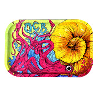 OCB Limited Edition Metal Rolling Tray | Cephalopod | Medium | Wholesale