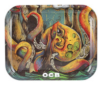 "OCB Rolling Tray - 14""x11"" / Large / Octopus"