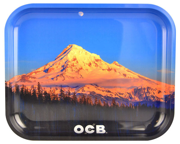 OCB Rolling Tray Limited Edition - Mt. Hood | Large