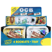 OCB Rolling Tray & Papers Trial Packs | Slim Hemp