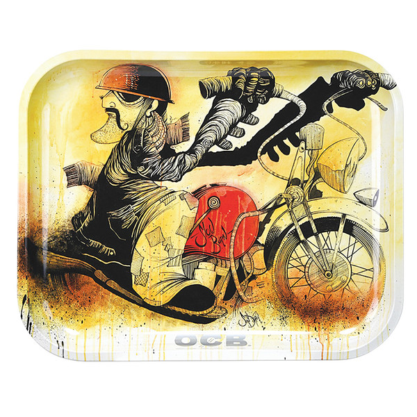 OCB Rolling Tray | Large | Motorcycle