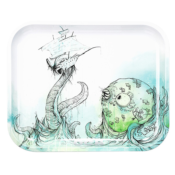 OCB Rolling Tray | Large | Sea Monster