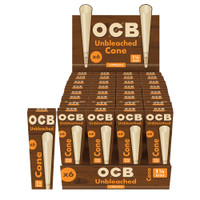 OCB Unbleached Cones | 1 1/4 | Wholesale Distributor