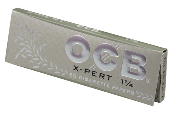 OCB X-Pert Rolling Papers - 1-1/4 Inch - 24pc Display - AFG Dist