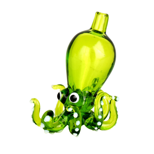 Octopus Directional Carb Cap | Green | Wholesale