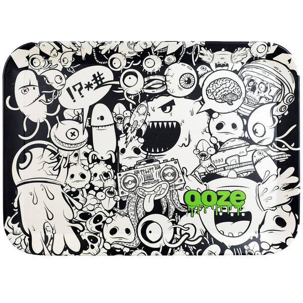 Ooze Biodegradable Rolling Tray | Monsterous | Large | Wholesale
