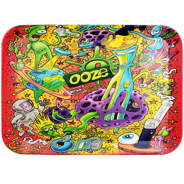 Ooze Biodegradable Rolling Tray | Universe | Large | Wholesale Distributor
