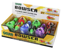 Ooze Bowser Silicone & Glass Pipe - 12pc Display - AFG Distribution