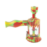 Ooze Clobb Silicone Glass 4-in-1 Water Pipe | Rasta | Wholesale Distributor