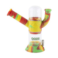 Ooze Cranium Silicone Glass 4-in-1 Water Pipe | Rasta | Wholesale Distributor
