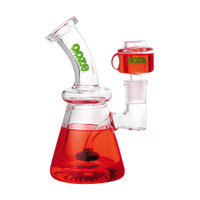 Ooze Glyco Glycerin Chilled Glass Water Pipe | Red | Wholesale