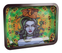 "Ooze Rolling Tray - Cursed / 7""x5"" / Small"