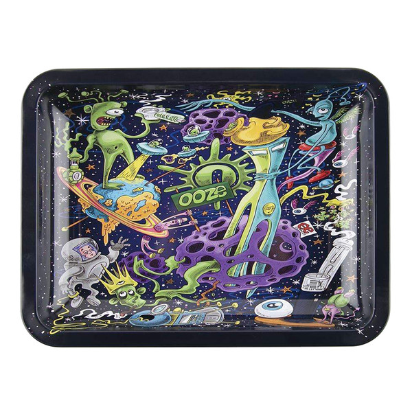 Ooze Rolling Tray | Universe Design | Medium | Wholesale