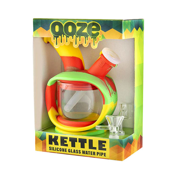 Ooze Silicone Kettle Waterpipe - 6.25""