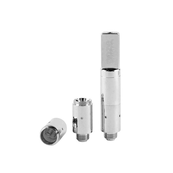 Ooze Slim Twist Pro Wax Atomizer | Chrome