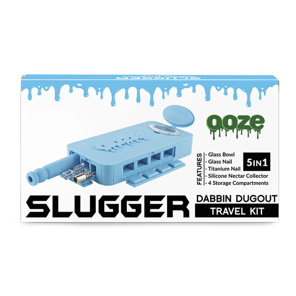Ooze Slugger Dabbin Dugout Travel Kit | Wholesale | Teal