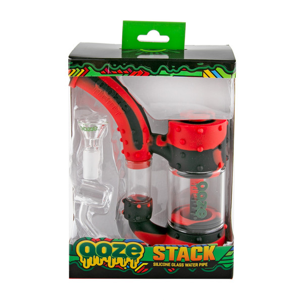 Ooze Stack Silicone Water Pipe | Packaging | Master Distributor