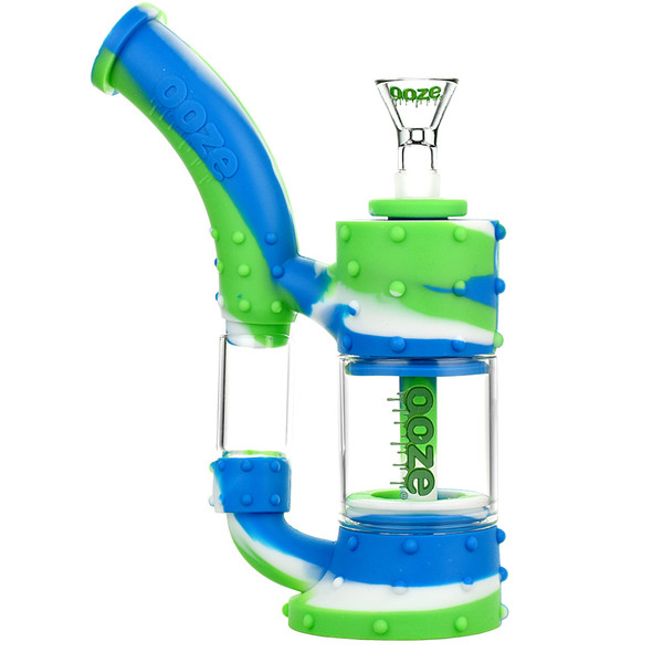 Ooze Stack Silicone Water Pipe | Glow | Master Distributor