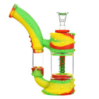 Ooze Stack Silicone Water Pipe | Rasta | Master Distributor