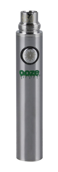 "Ooze Standard Batteries - 3"" / 650mAh / Chrome / 5pc"