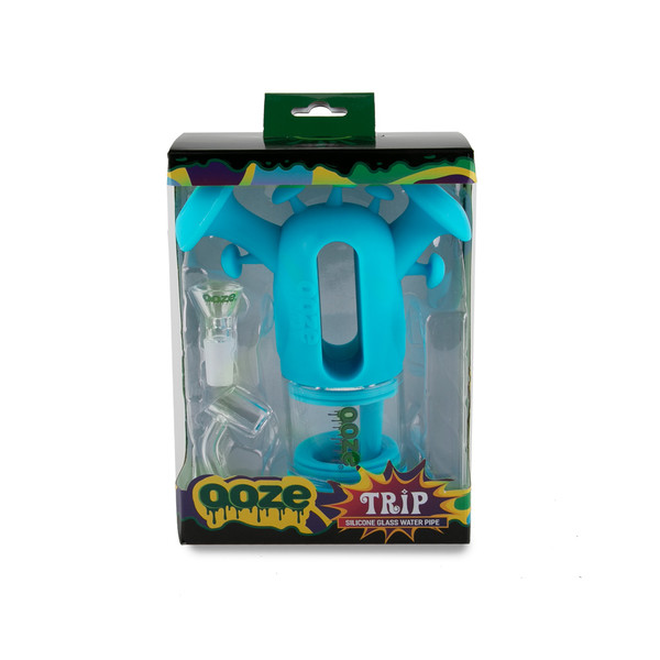 Ooze Trip Silicone Bubbler Rig - 7"