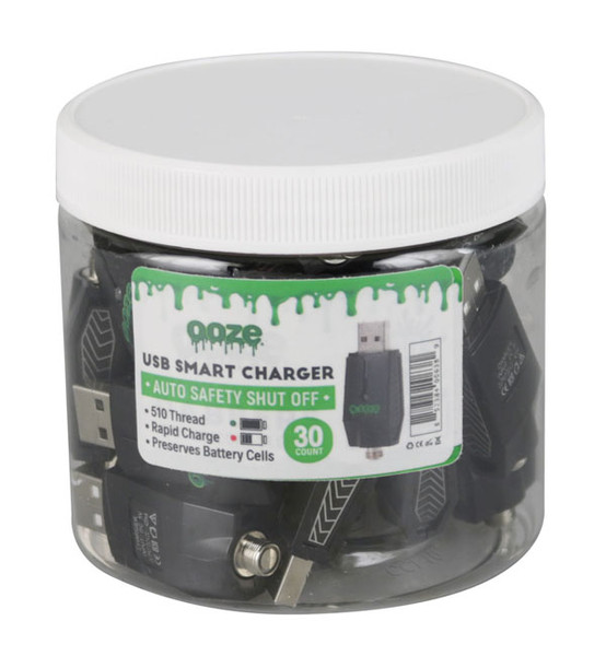 Ooze USB Smart Chargers - 30pc Display