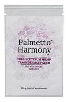 Palmetto Harmony Hemp Transdermal Patch - 30mg - AFG Distribution
