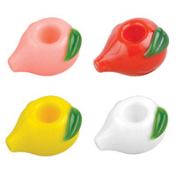 Peach Hand Pipe - 3"