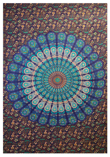 Peacock Tapestry - 54x86 - AFG Distribution