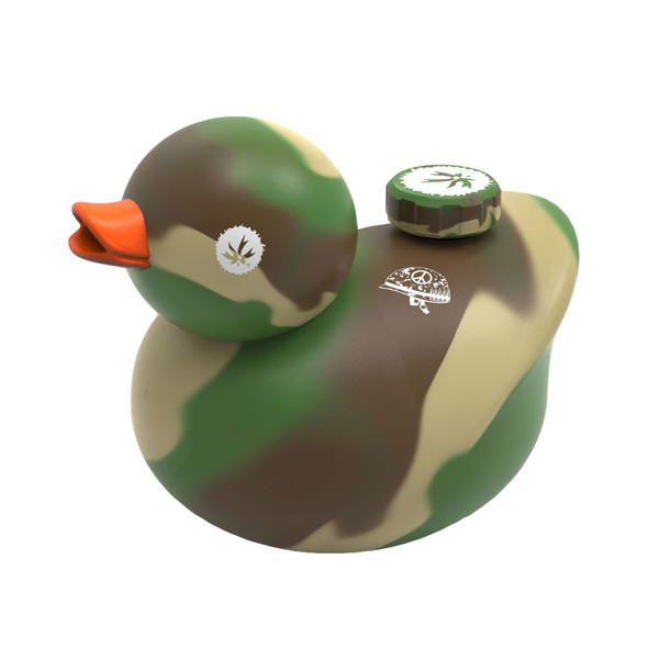 Piecemaker Kwack Duck Water Pipe | Camouflage | Master Distributor