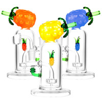 Pineapple Oil Rig | 14mm Female | Assorted Colors | Distributor