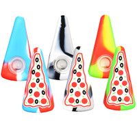 Pizza Slice Silicone Hand Pipe | Wholesale Distributor