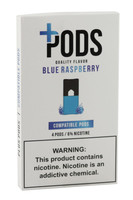 Plus Pods - 6% / Blue Raspberry - 5pk Display