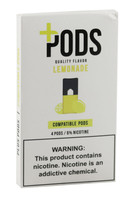 Plus Pods - 6% / Lemonade - 5pk Display