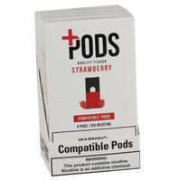 Plus Pods - 6% / Strawberry - 5pk Display
