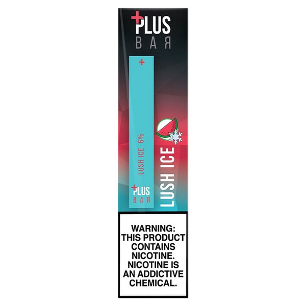Plus Pods Disposable Stick 5pc Display | Lush Ice | Wholesale