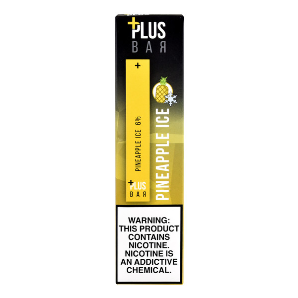 Plus Pods Disposable Stick 10pc Display | Pineapple Ice | Wholesale