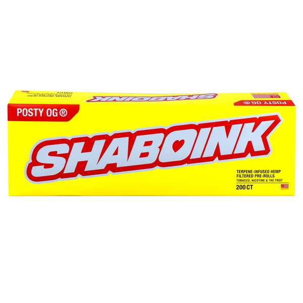 Post Malone Shaboink Hemp Cigarettes | Distributor | Carton