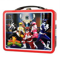 "Power Rangers Metal Lunch Box - 8.5""x6.75"""