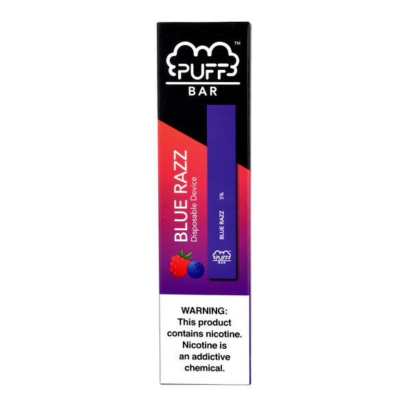 Puff Bar Disposable Stick | Blue Raspberry | Master Distributor