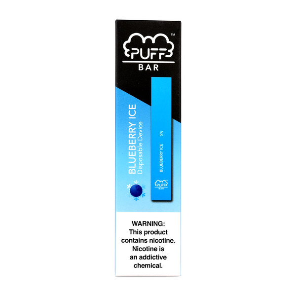 Puff Bar Disposable Stick | Blueberry Ice | Master Distributor