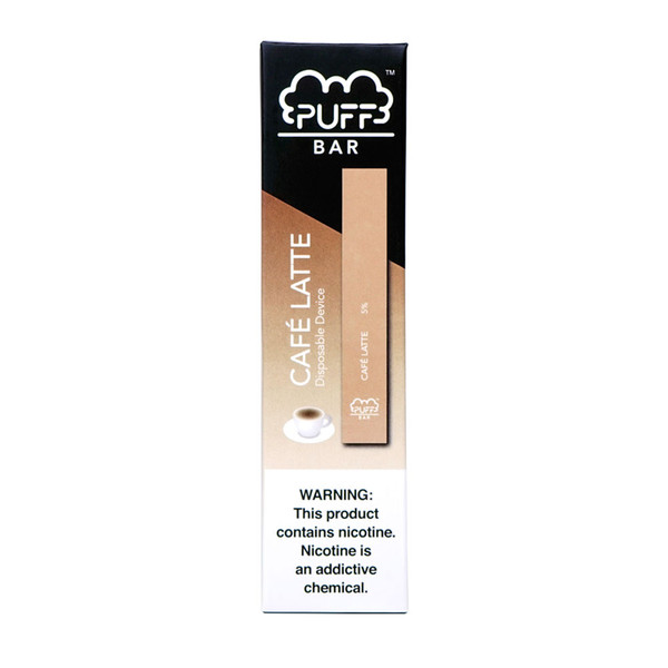 Puff Bar Disposable Stick | Cafe Latte | Master Distributor
