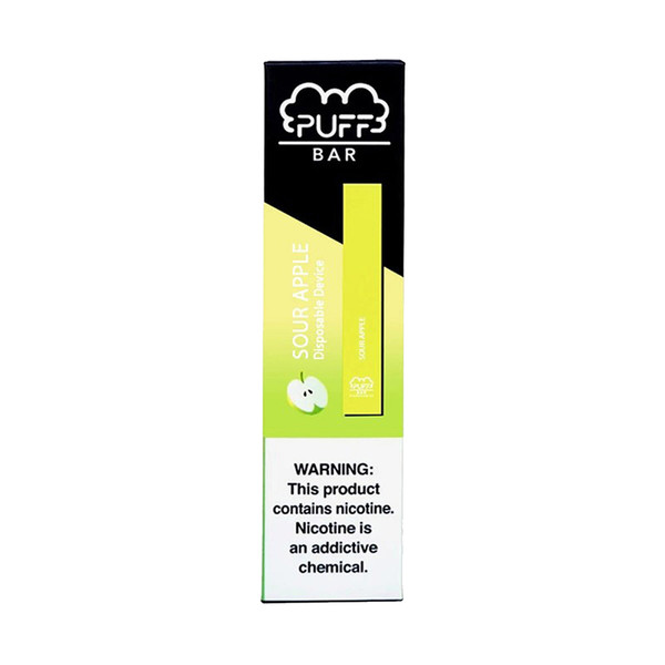 Puff Bar Disposable Stick | Sour Apple | Master Distributor