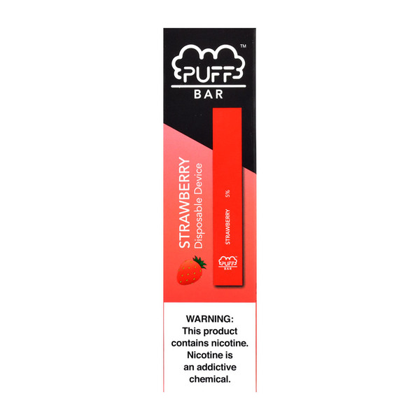 Puff Bar Disposable Stick | Strawberry | Master Distributor