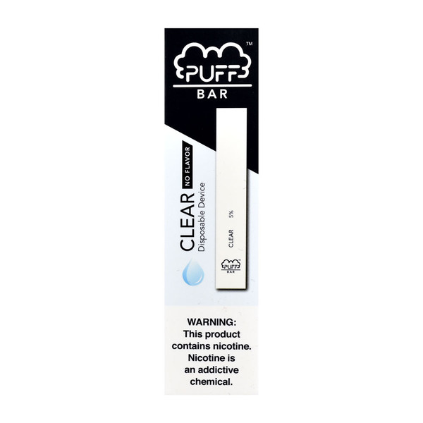Puff Bar Disposable Stick | Unflavored | Master Distributor
