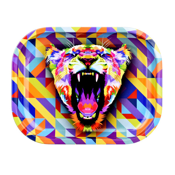 Puff Puff Pass Rolling Tray | Small Lioness | Wholesale Distributor
