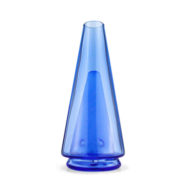 Puffco The Peak Colored Glass Attachment | Blue | Wholesale