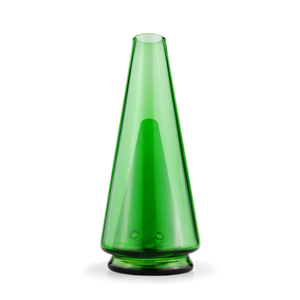 Puffco The Peak Colored Glass Attachment | Green | Wholesale