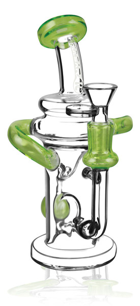 Pulsar Ball Recycler Waterpipe - 7.5 / 14mm F / Asst Colors - AFG Dist