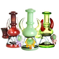 Pulsar Clear Marble Drip Mini Rig | Wholesale Distributor